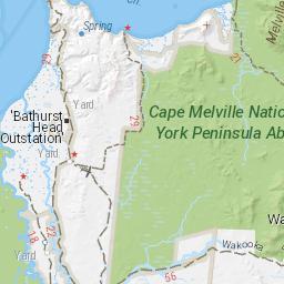 Cape Melville 4WD  Hema Maps