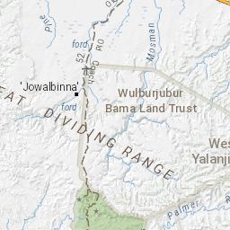 Palmer River Goldfields - Hema Maps